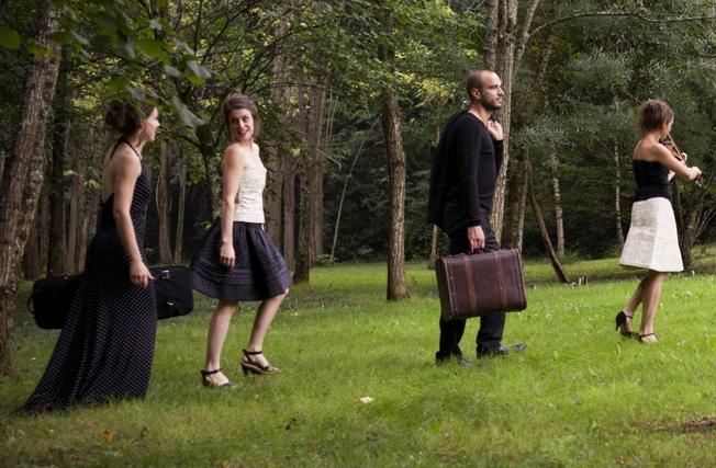 Avec le Quatuor Voce