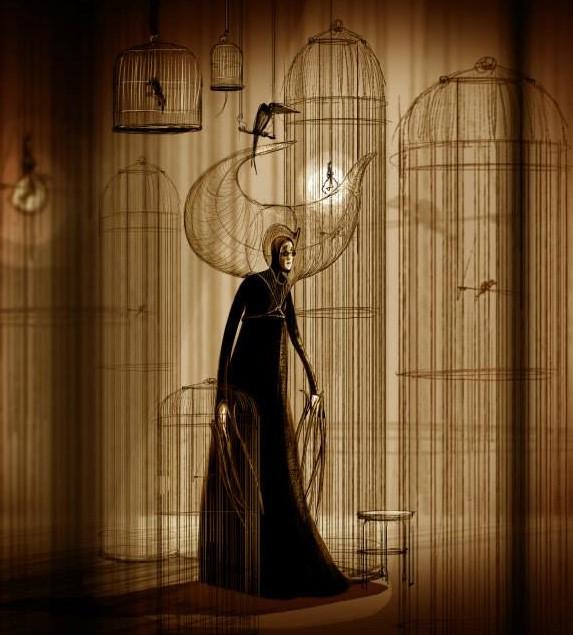 Une flûte - la reine